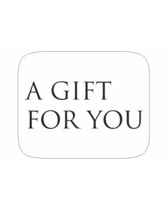 Wensetiket a gift for you wit (500 stuks)